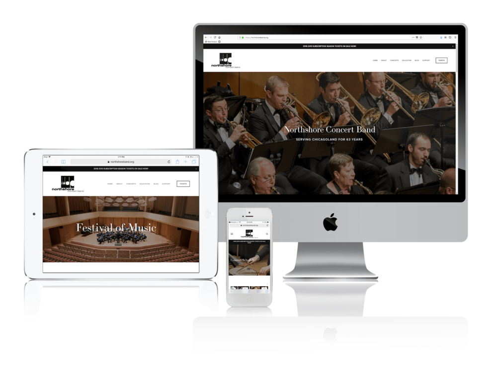 Squarespace for Performing Arts Websites