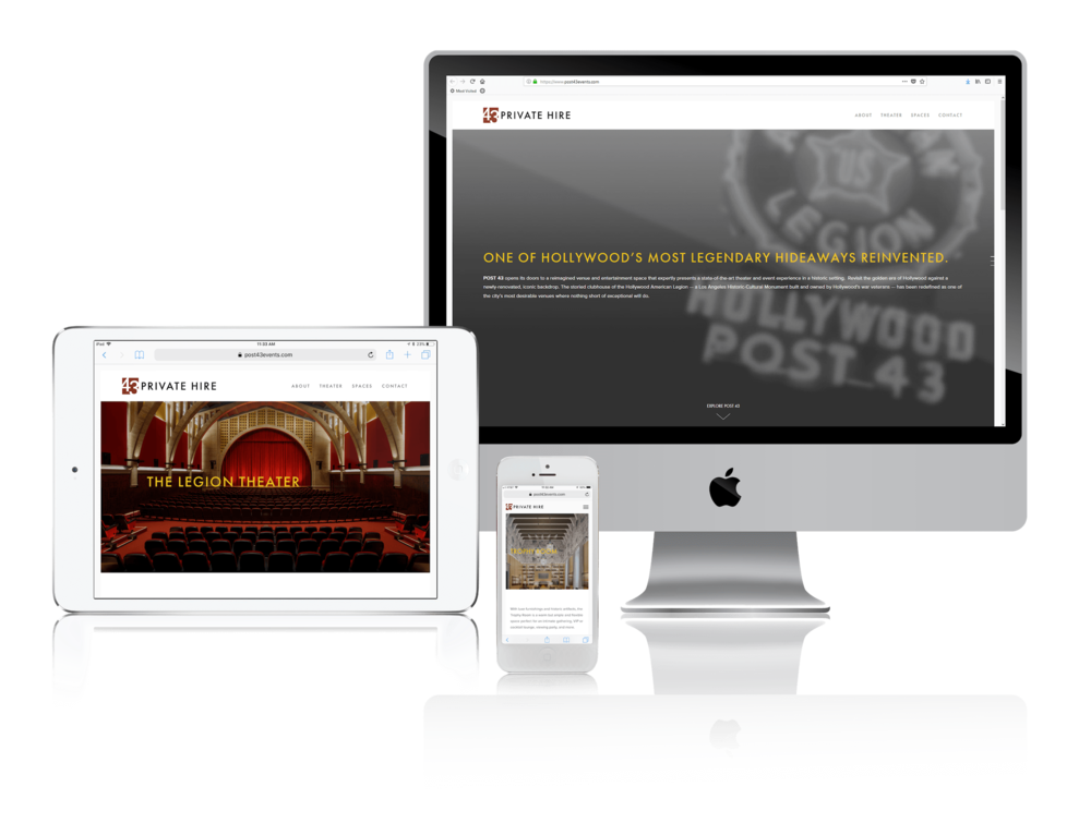 Squarespace for Event Spaces