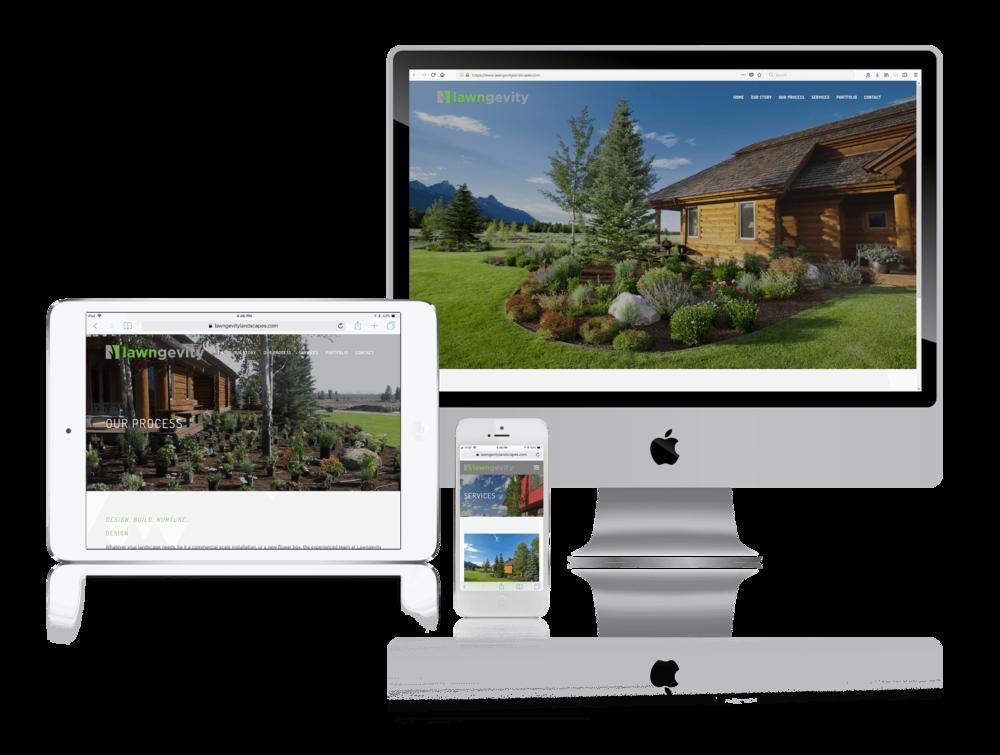 Squarespace for Professional Landscape Websites