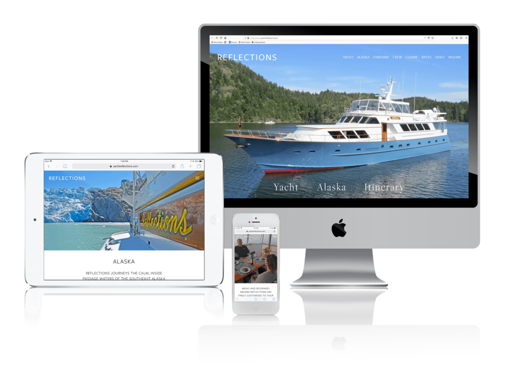 Squarespace for Yacht Charter Websites