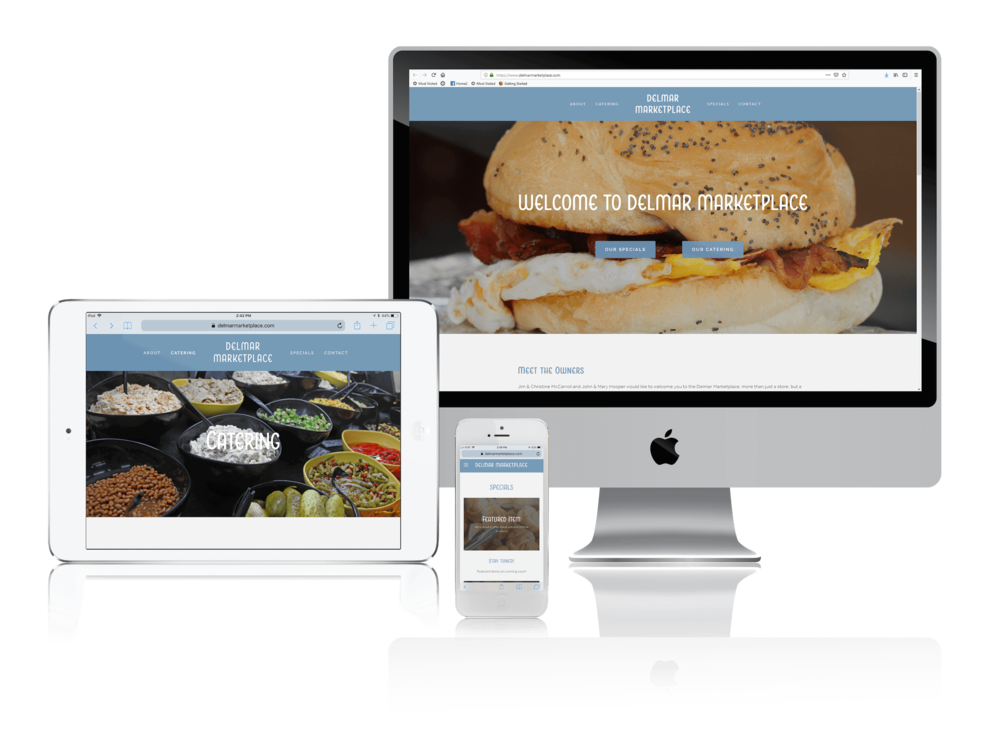 Squarespace for Specialty Foods and Catering Websites