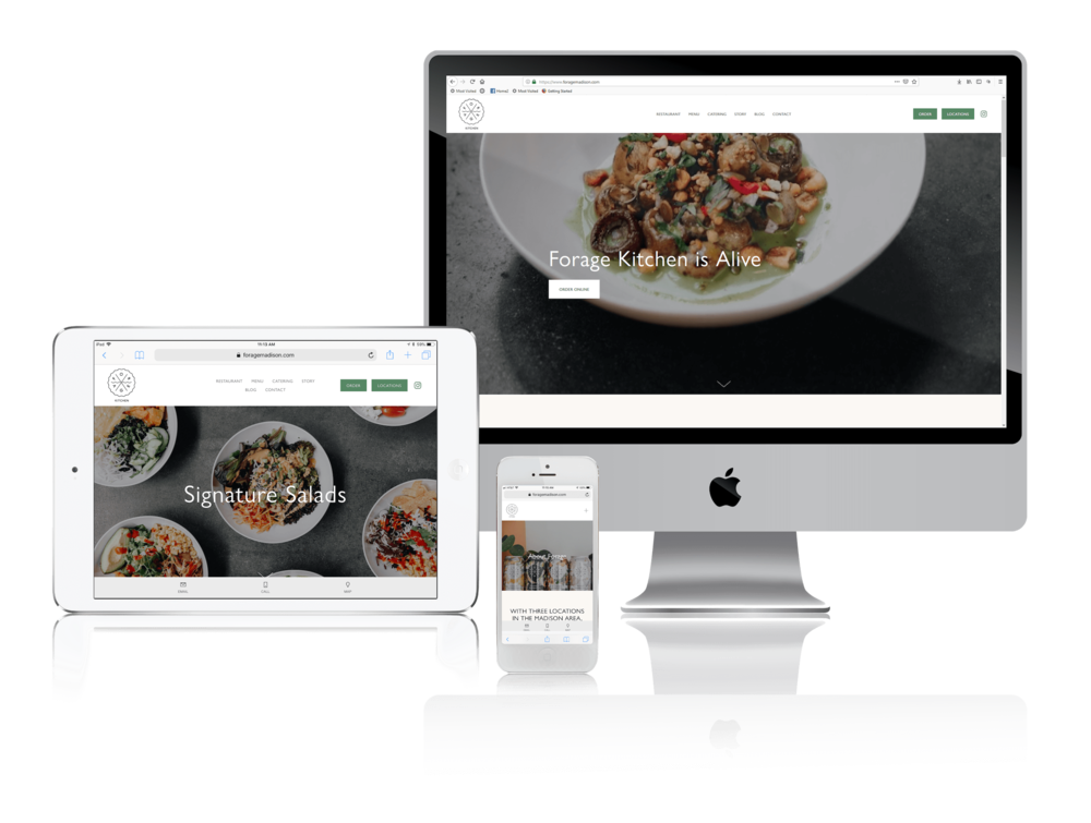Squarespace for Health-Conscious Restaurants