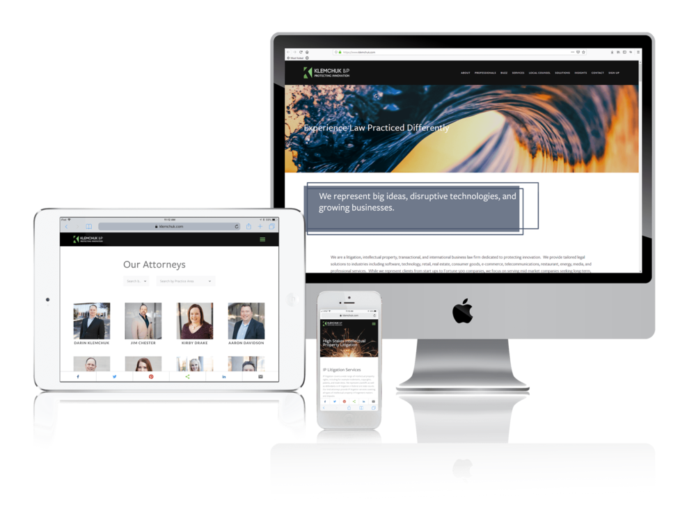 Squarespace for Large Law Firm Websites