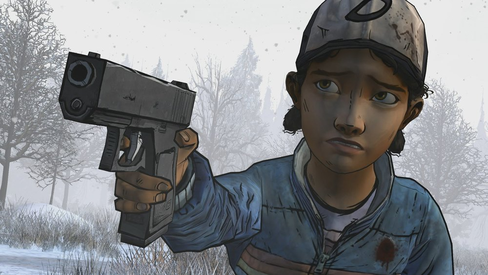 If only people took Clem as seriously as she does killing zombies.