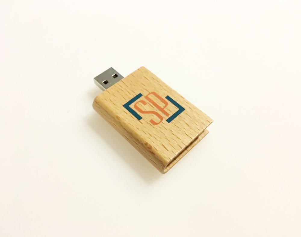 Our book USB's work great for out portrait customers!