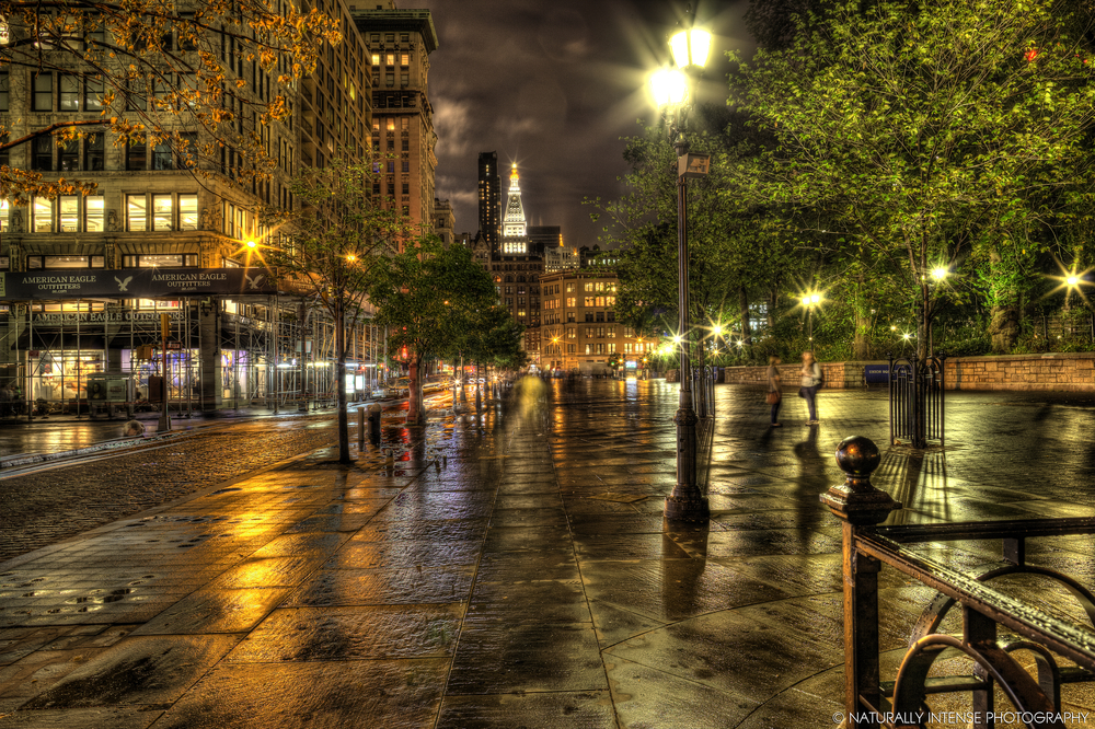 My photo of Union Square was chosen as Photo of the Day by the Union Square blog