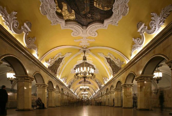 5. Komsomolskaya Station – Russia