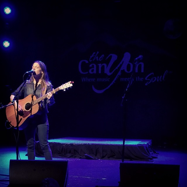Kathleen Sieck and Paul Kenny open for Sea Wolf at the Canyon Club