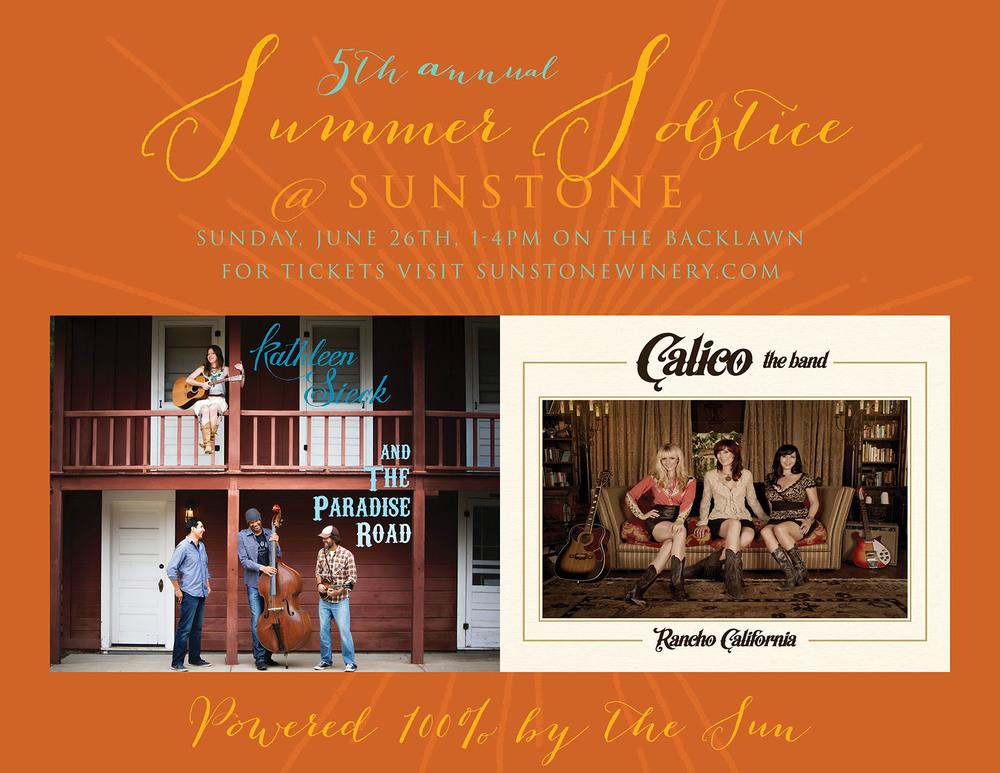 Sunstone Winery Solstice Concert