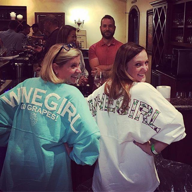 "The ""Wine Girls"" in Fredericksburg 💕🍷"