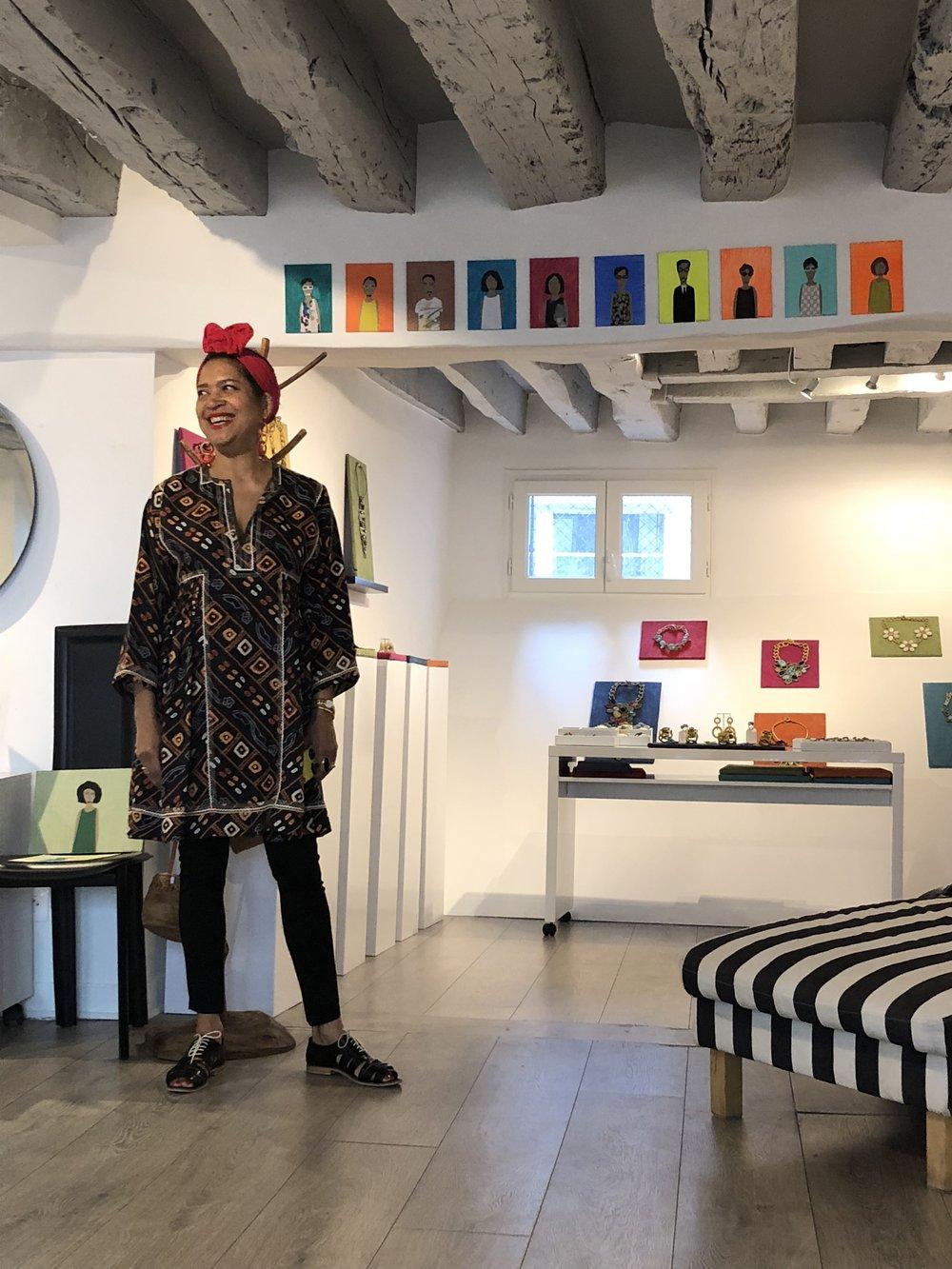 Art of Fashion Folk at Boks & Baum.