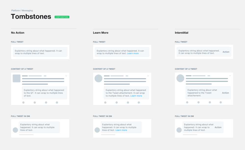 Componentized in the Horizon Twitter design system