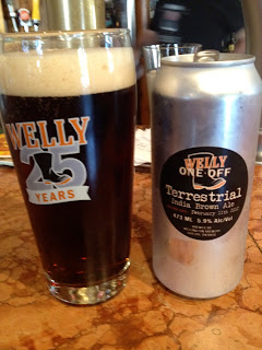Terrestrial India Brown Ale!