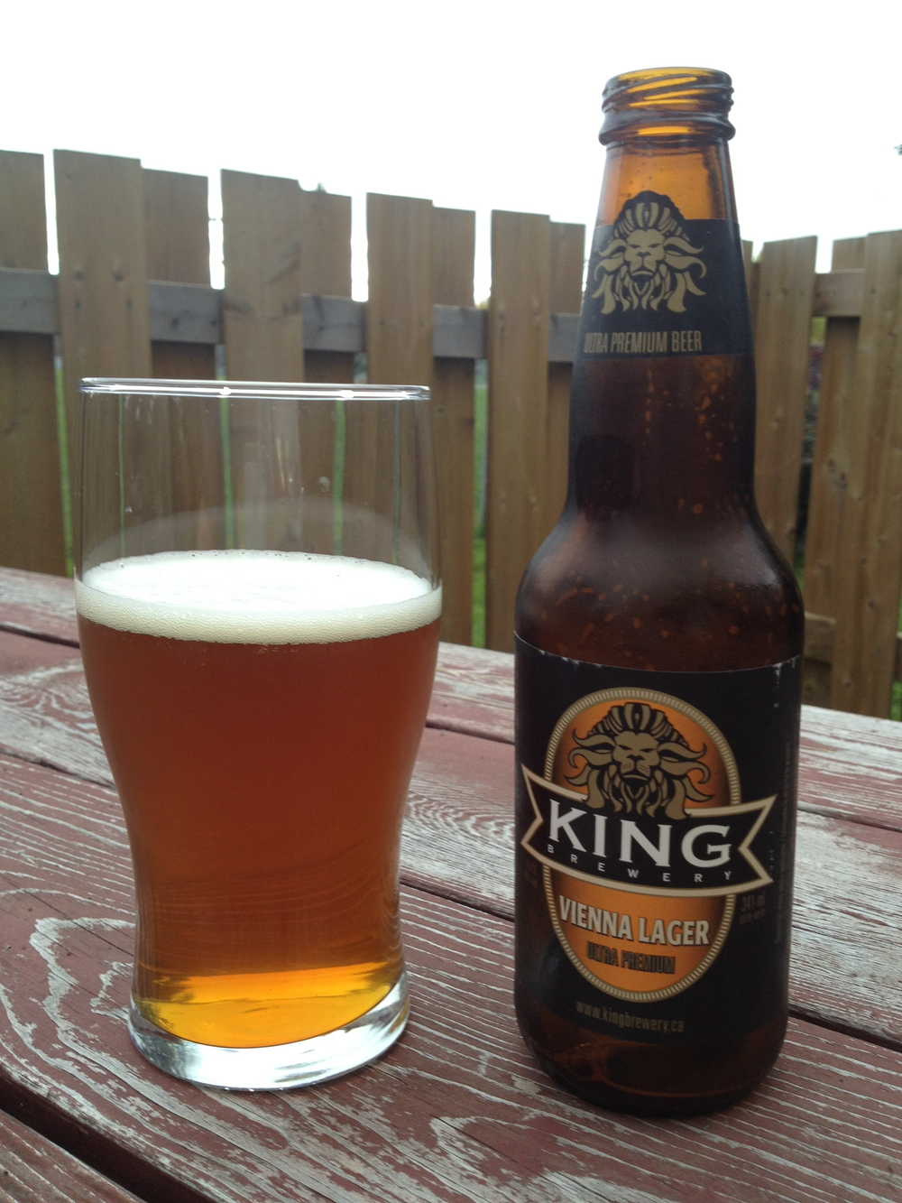 King Vienna Lager - Gold award winner for Amber Lager at the 2011 Canadian Brewing Awards. Rightfully so!