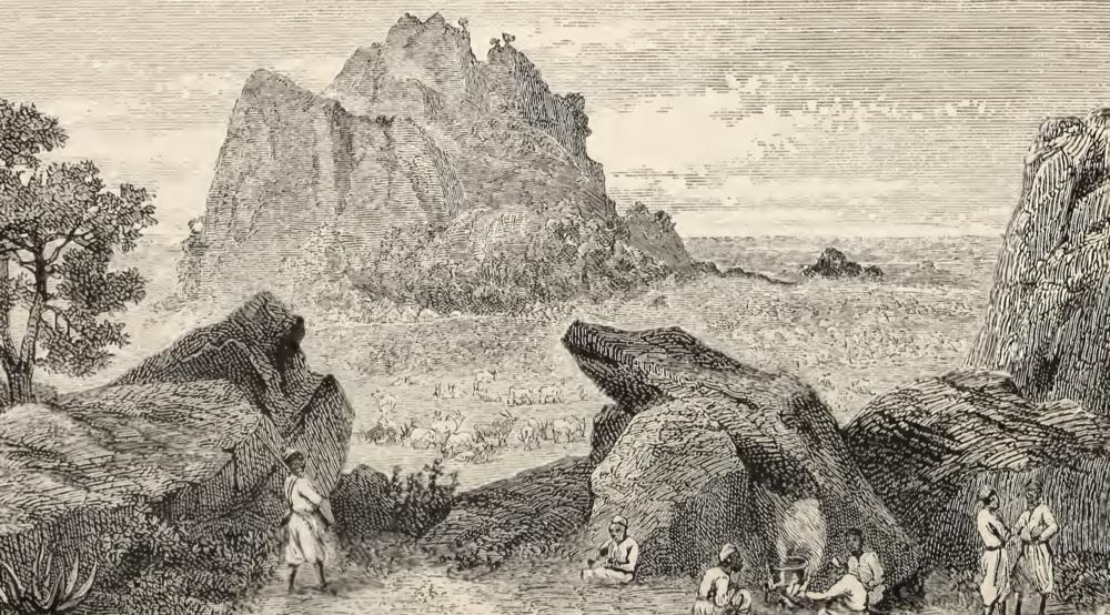 From Samuel White Baker's  Ismailïa  (1879)
