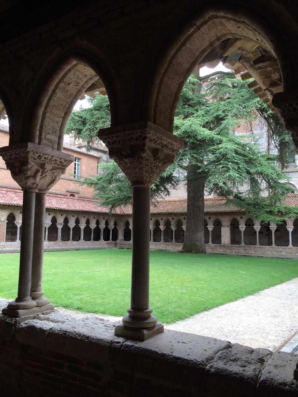 This is one image of the cloister.