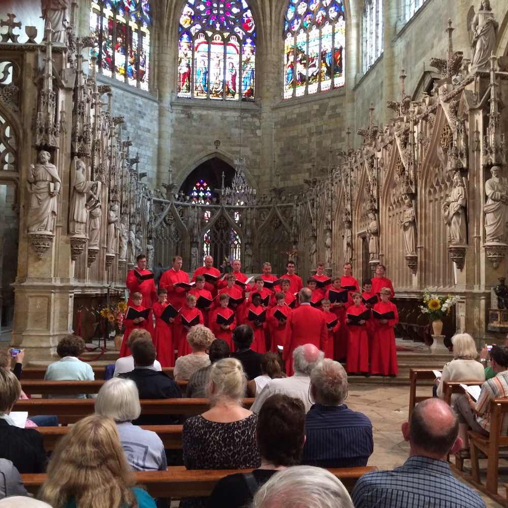 Here is the Ely choir in concert in this marvelous cathedral.