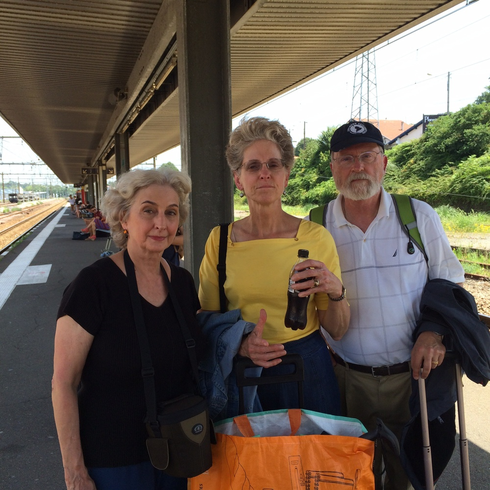 These are my traveling companions, Sherry Beeman, Dianne and Dick Schenke.
