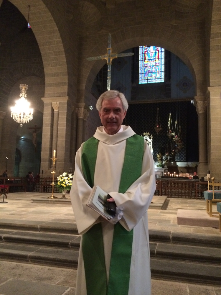 The Rev. Peter Sills in Lyon, France