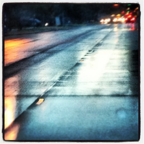 wet roads, BSP photo 2013