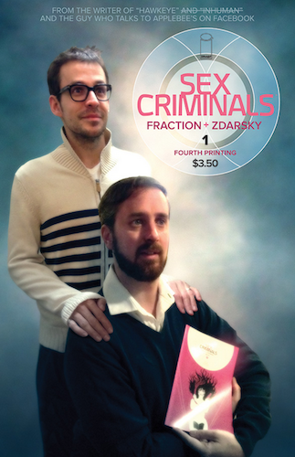 Fourth printing cover of Sex Criminals #1