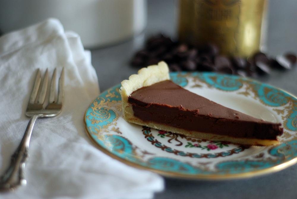 Chocolate Creme Fraiche Tart.jpg