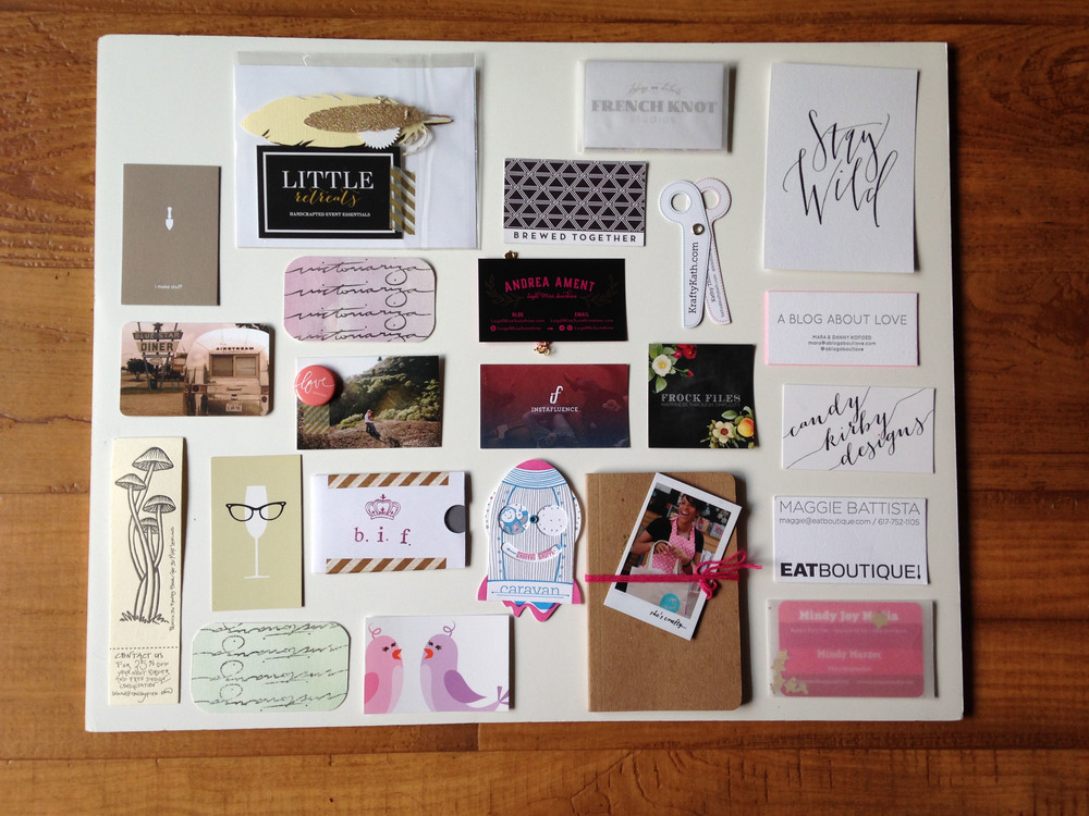 Neutral and Pink Toned Cards
