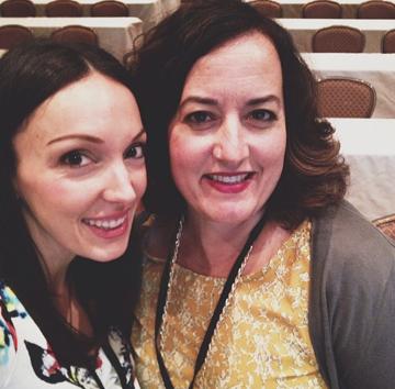 Deborah and Tanya...conference wives!