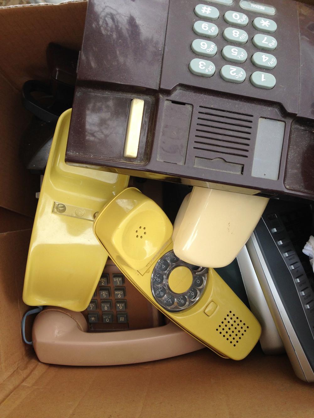 Old phones.