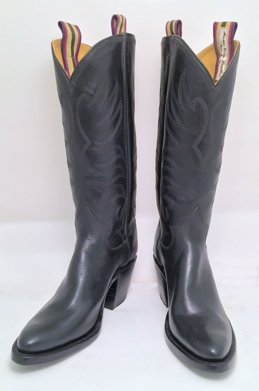 High Heeled Cowboy Boot