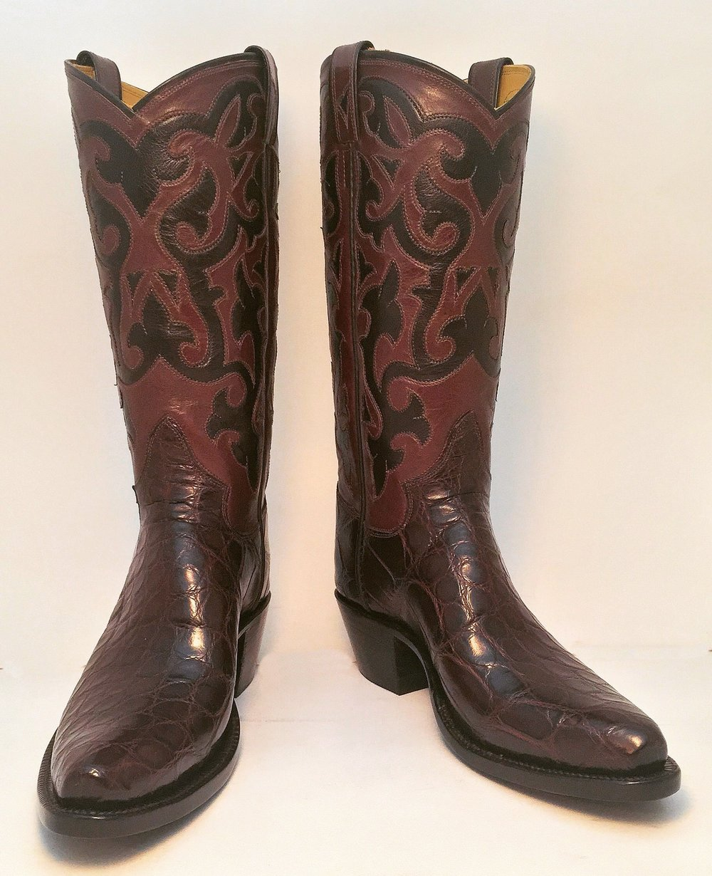 Custom Alligator Cowboy Boot