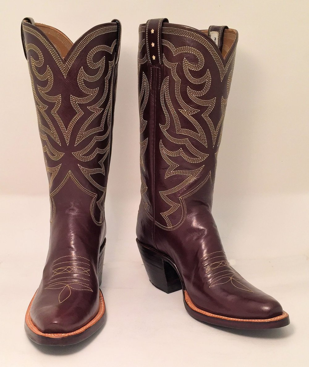 Women's High Heeled Cowboy Boot