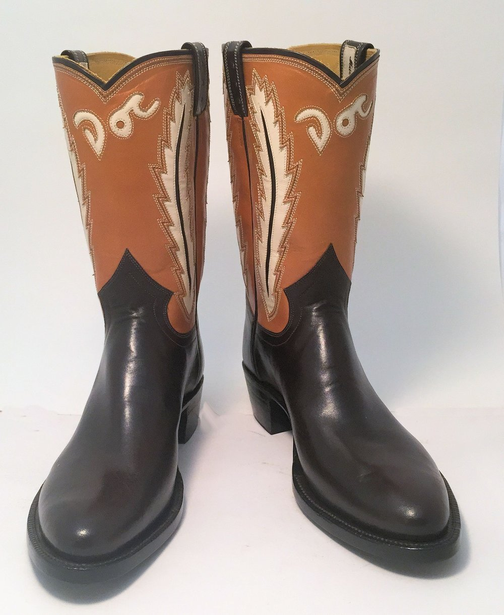Inlayed Cowboy Boot