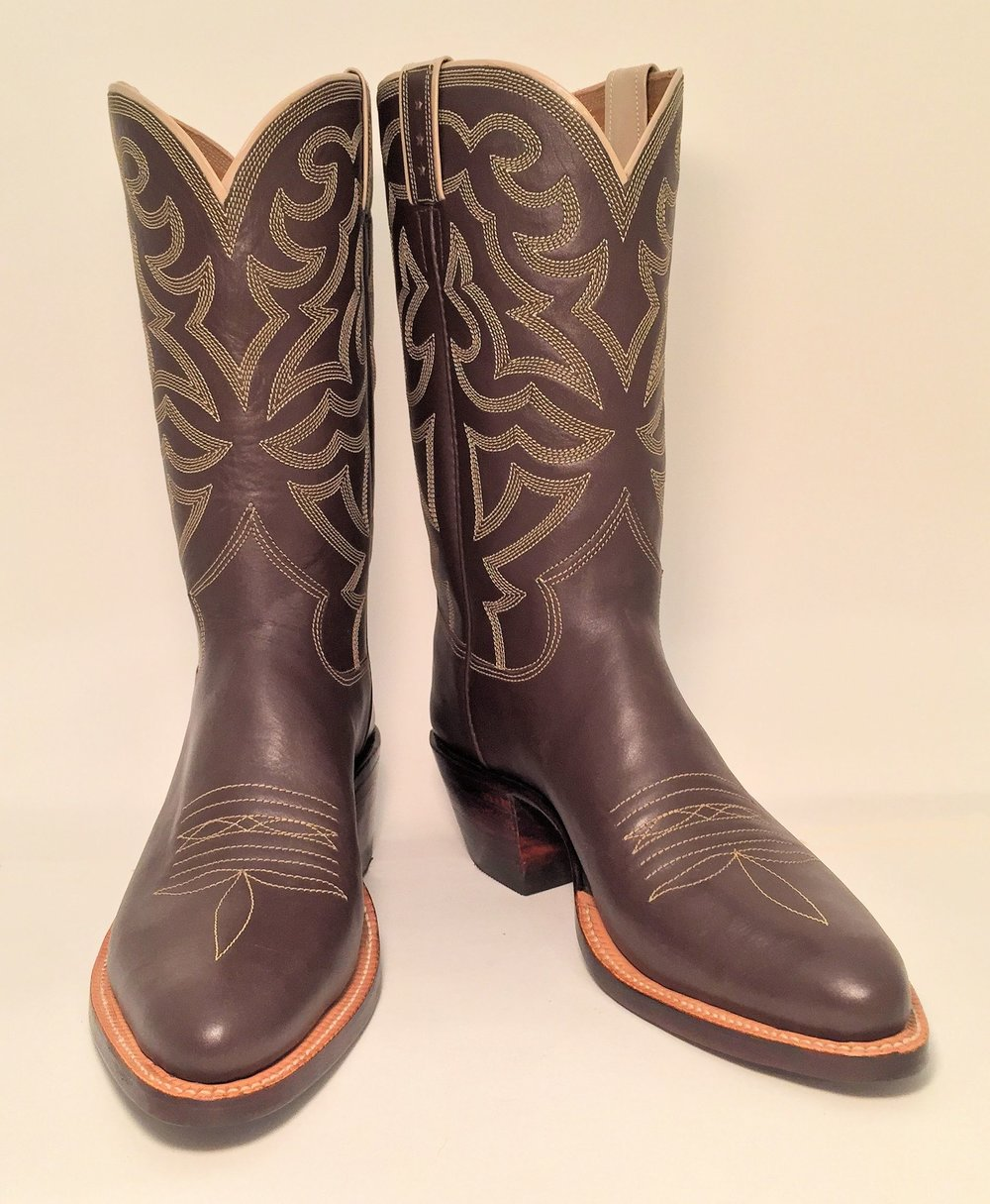 Mens Calf dress Cowboy Boot