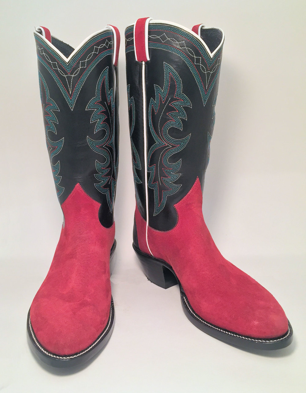 Red Pig  Custom Cowboy Boot
