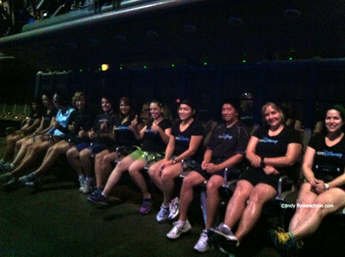Group photo on Soarin' over California