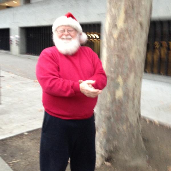 The real Santa!