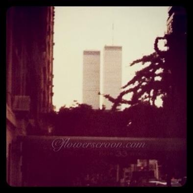 WTC 12 years ago. Just before I left NYC. Just before September 11. I will never forget.