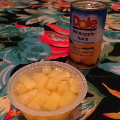Dole is still the sponsor!