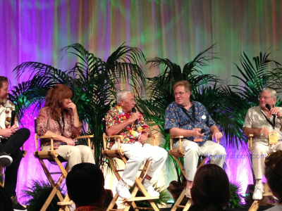 Memories panel discussion with Bob Gurr and Rolly Crump