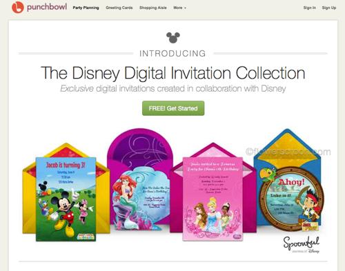 Disney Digital Invitation Collection gallery