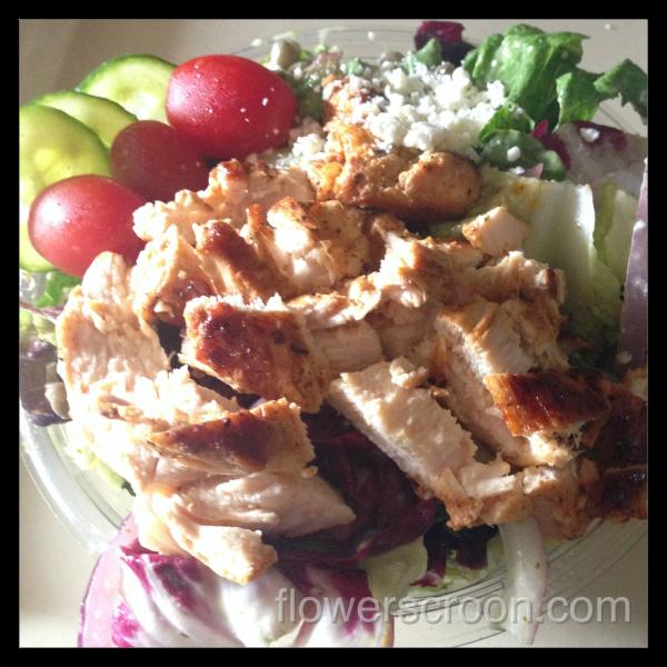 chicken salad at The Mara