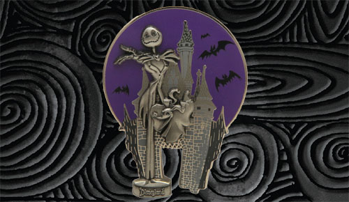 Jack Skellington and Zero Partners Statue pin. Photo credit: Disney