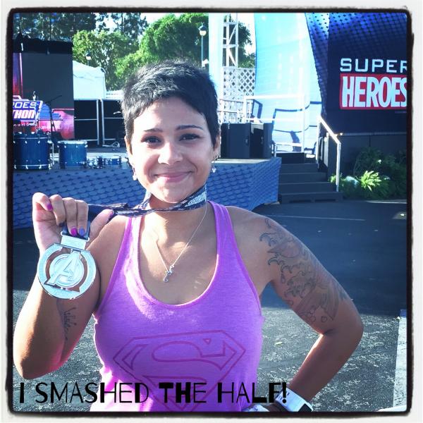 runDisney Avengers Super Heroes half marathon finisher medal.jpg