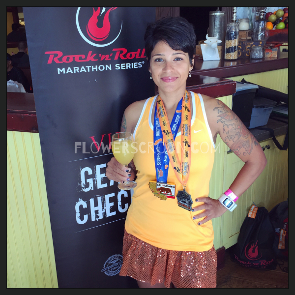 Rock 'n' Roll Los Angeles Halloween Half Marathon vip mimosa.jpg