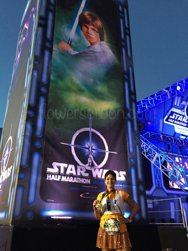 Inaugural Star Wars 5K Finisher!
