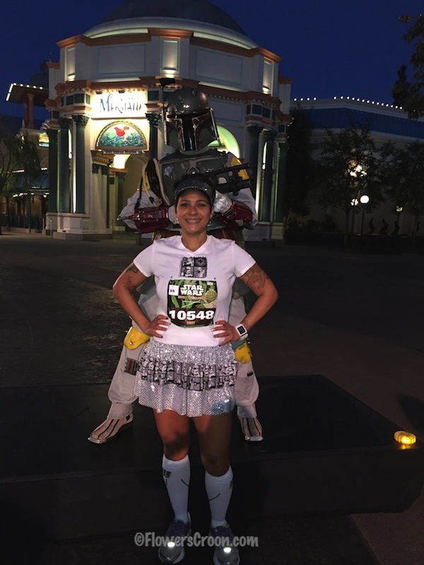 rundisney star wars 10k boba fett