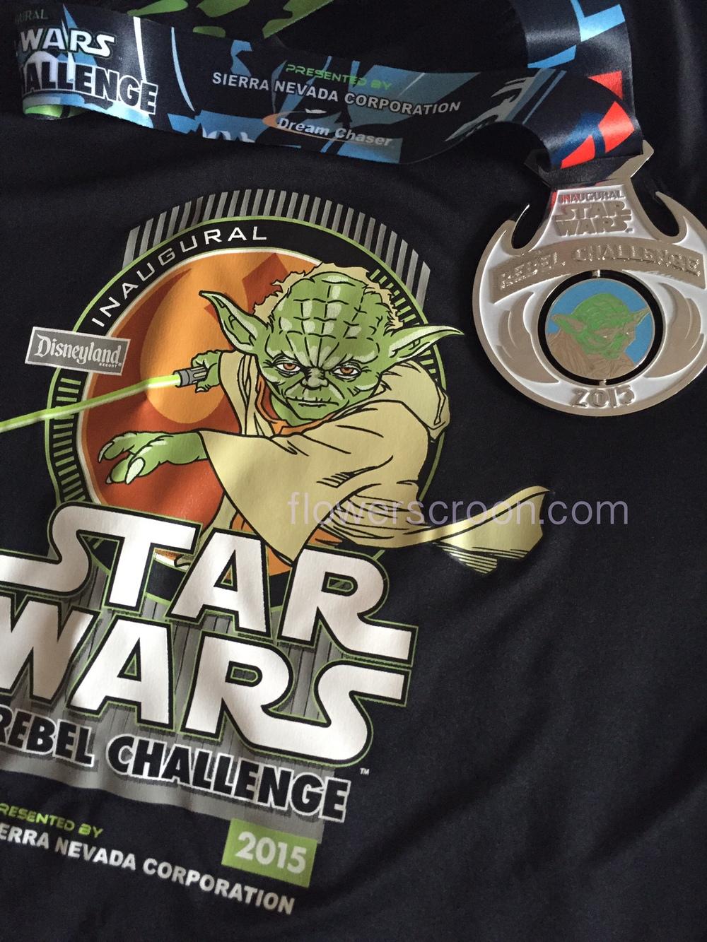 Rebel Challenge Medal Yoda