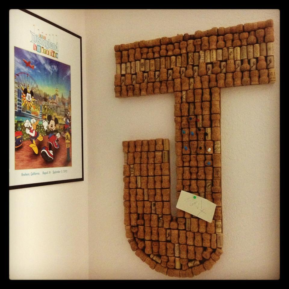 DIY Wine & Champagne Cork Disney Pin Board — wonderland ...