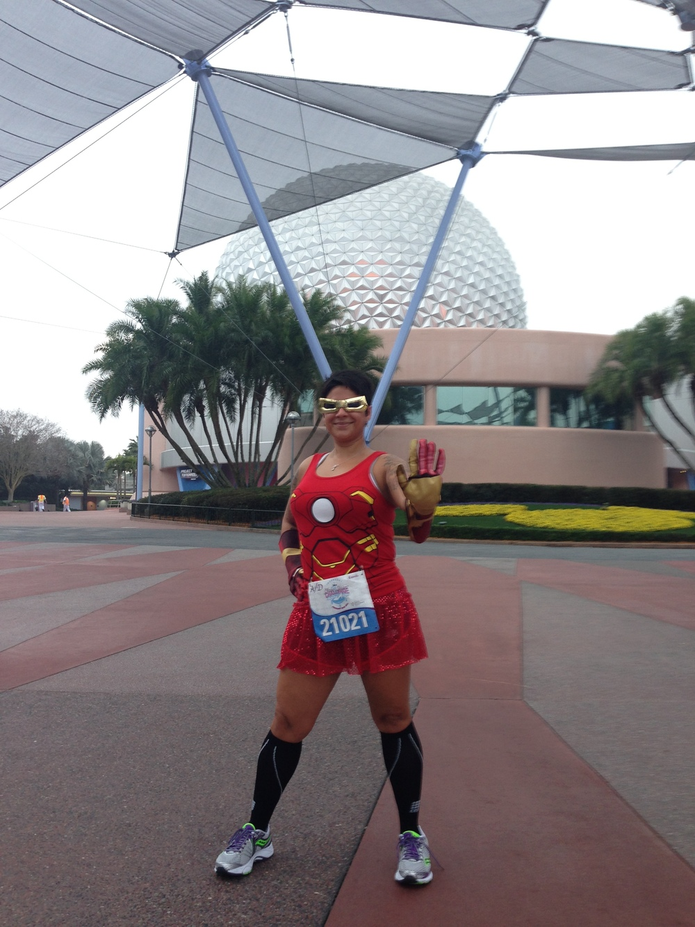2014 Glass Slipper Challenge Iron Man Costume